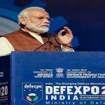 Prime Minister of India sets target at DefExpo of 5 billion dollar USD in upcoming 5 years