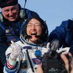 Astronaut Christina Koch returns to Earth after record stay in space