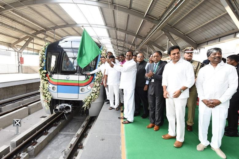 Hyderabad Metro Rail becomes 2nd largest metro network in India_40.1