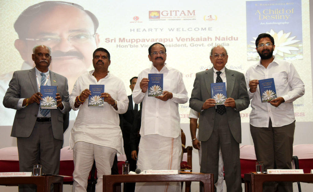 Vice President releases the book 'A Child of Destiny'_40.1