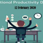 National Productivity Day observed globally on 12 February