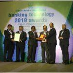 South Indian Bank bagged two awards at the Banking Technology 2019 awards by IBA