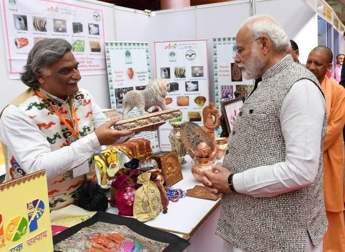 PM Modi inaugurates 'Kashi Ek Roop Anek' exhibition in Varanasi_40.1