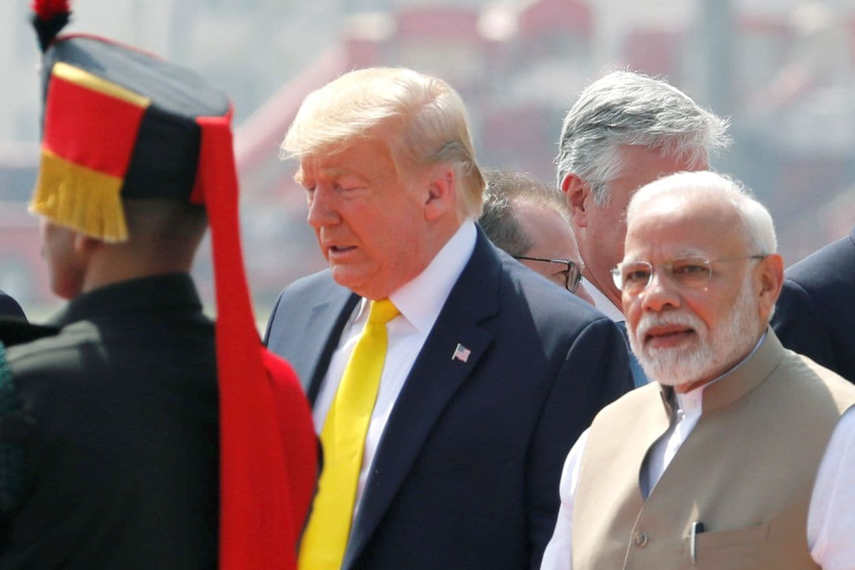 POTUS in India: Events of 24th February 2020_40.1