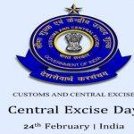 Central Excise Day celebrated on 24th February across India