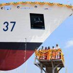 "6th Coast Guard Offshore Patrol Vessel ""VAJRA"" launched"