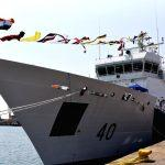"""""""ICGS Varad"""" commissioned as Indian Coast Guard's Offshore Patrol Vessel"""