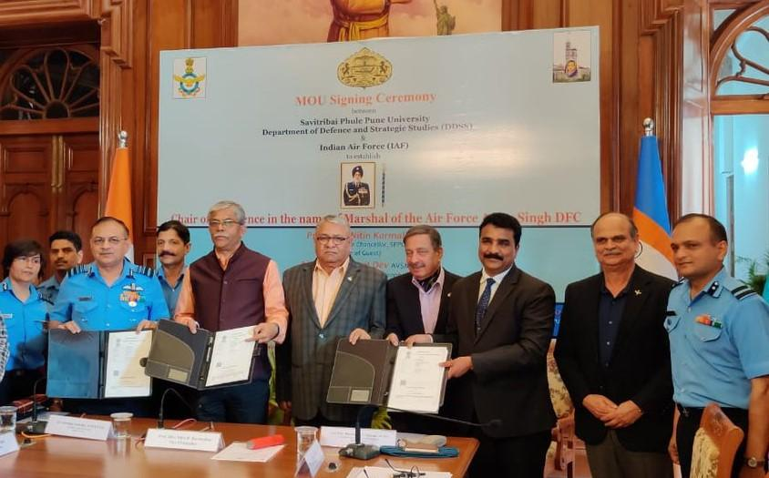 IAF & Savitribai Phule Pune University to establish 'Chair of Excellence'_40.1