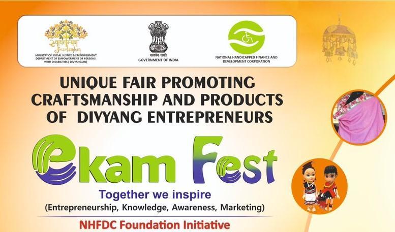 """""""Ekam Fest"""" begins to promote Craftsmanship of Divyang Artisans_40.1"""