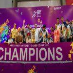 1st Khelo India University Games concludes in Bhubaneswar