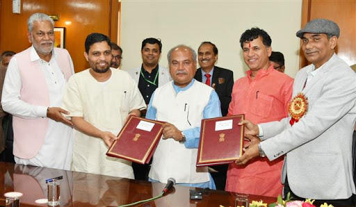 ICAR inks MoU with Patanjali Bio Research Institute_40.1