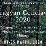 "Indian Army's International Seminar ""Pragyan Conclave 2020"" begins"