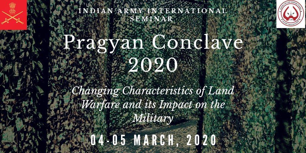 "Indian Army's International Seminar ""Pragyan Conclave 2020"" begins_40.1"