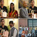 61st annual Lalit Kala Akademi awards conferred by President Kovind