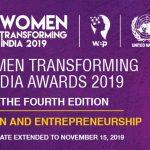 4th Edition of the Women Transforming India Awards 2019