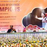 """Chronicles of Change Champions"" book released by Smriti Irani"