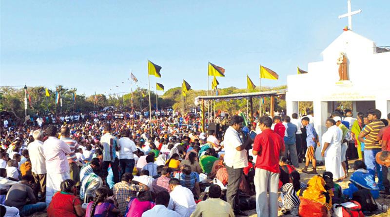 Annual Festival of St Antony's Shrine begins in Katchatheevu Island_40.1