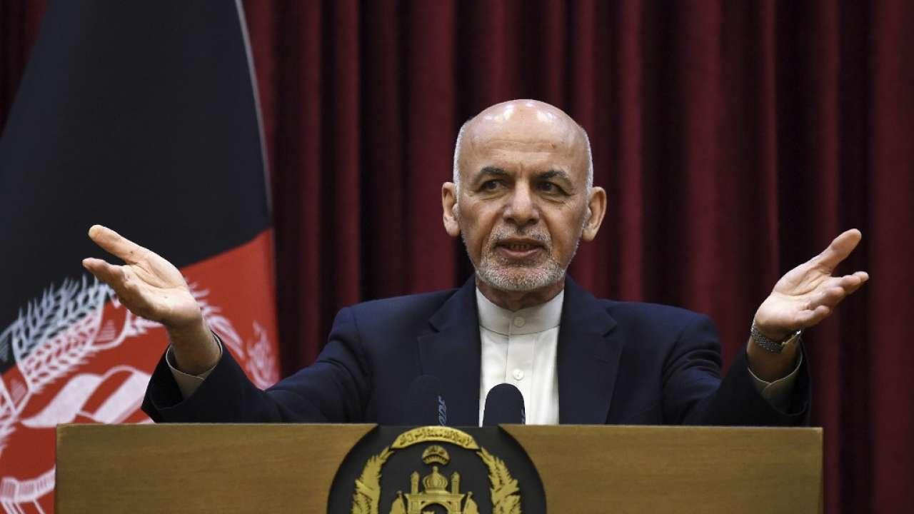 Ashraf Ghani Sworn in for Second Term as Afghanistan President_40.1
