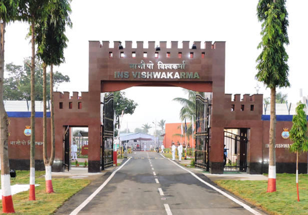 Indian Navy installs Quarantine Facility at Visakhapatnam_40.1