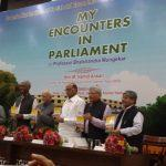 """My Encounters in Parliament"" authored by Bhalchandra Mungekar released"