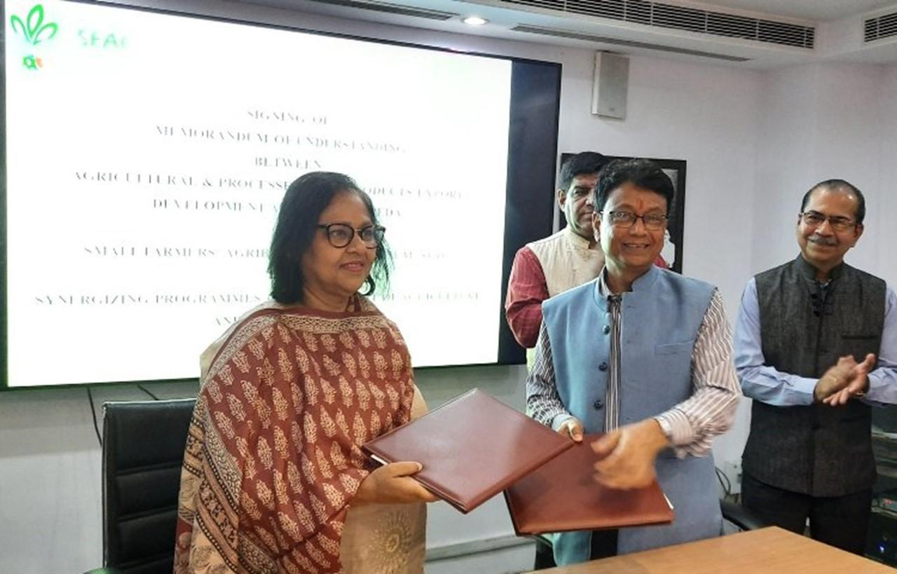 APEDA signs MoU with SFAC for development of agriculture sector_40.1