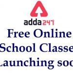 Adda247 is Starting Free Online School Classes