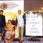 A book title 'Legacy Of Learning' authored by Savita Chhabra released