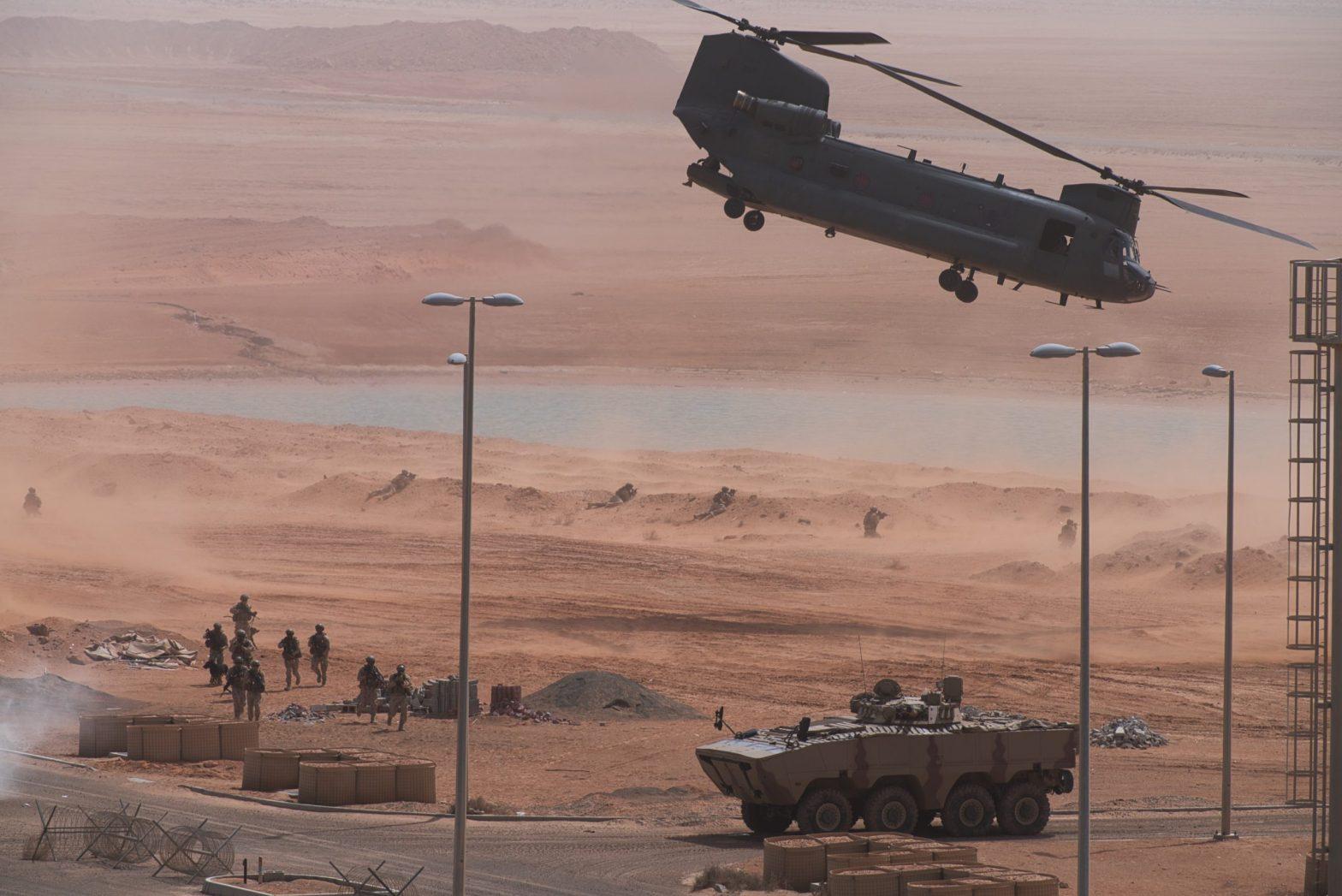 """US & UAE troops launch biennial exercise """"Native Fury""""_40.1"""