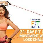 """Shilpa Shetty partners with """"Fit India Movement"""""""