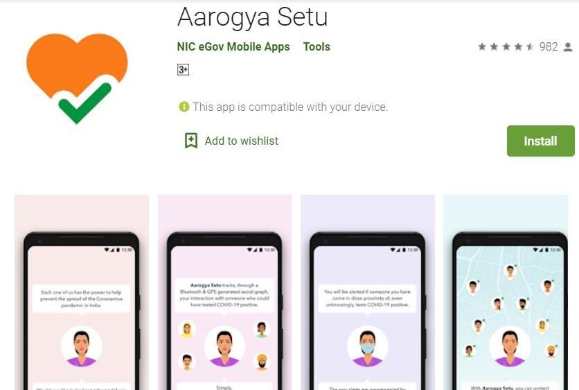 """GoI launches """"Aarogya Setu"""" app to track Covid-19_40.1"""