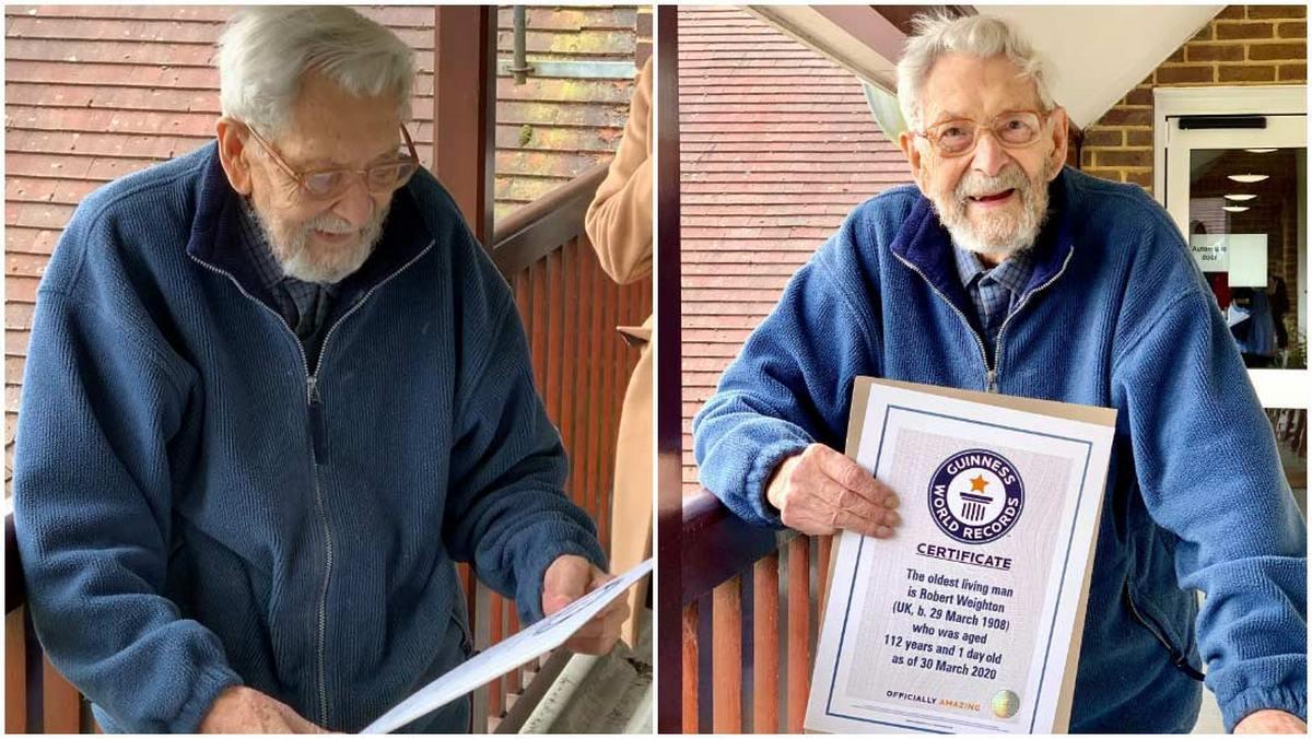 112-year-old Bob Weighton confirmed as world's oldest man_40.1