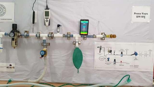 """IIT-Roorkee develops low-cost ventilator """"Prana-Vayu""""_40.1"""