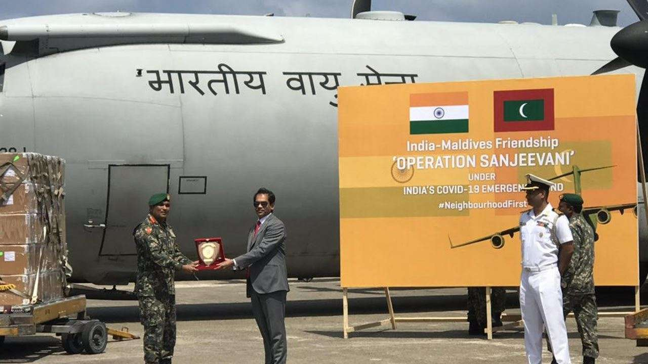 IAF airlifts essential drugs to Maldives under 'Operation Sanjeevani'_40.1