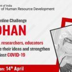 """MHRD launches """"Samadhan"""" challenge to fight against covid19"""