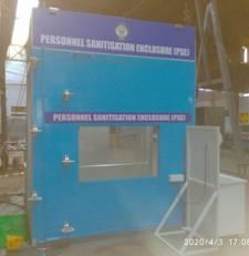 DRDO develops sanitisation enclosures & face shields_40.1