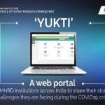 Ministry of HRD starts web portal 'YUKTI'