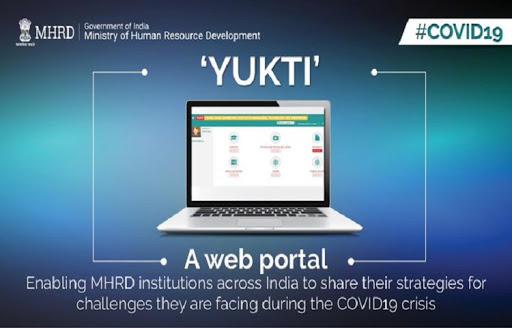Ministry of HRD starts web portal 'YUKTI'_40.1