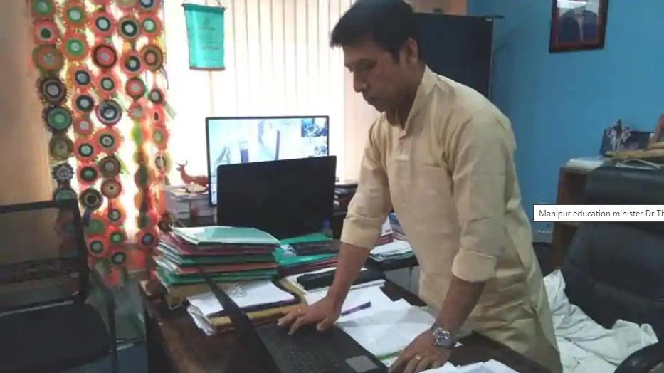 Manipur Govt launches Electronic format of comic textbooks_40.1