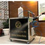 CSIR-CSIO develops Electrostatic Disinfection Machine for disinfection