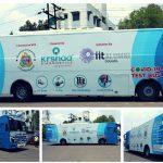 "IIT Alumni council launches ""COVID-19 test bus"""