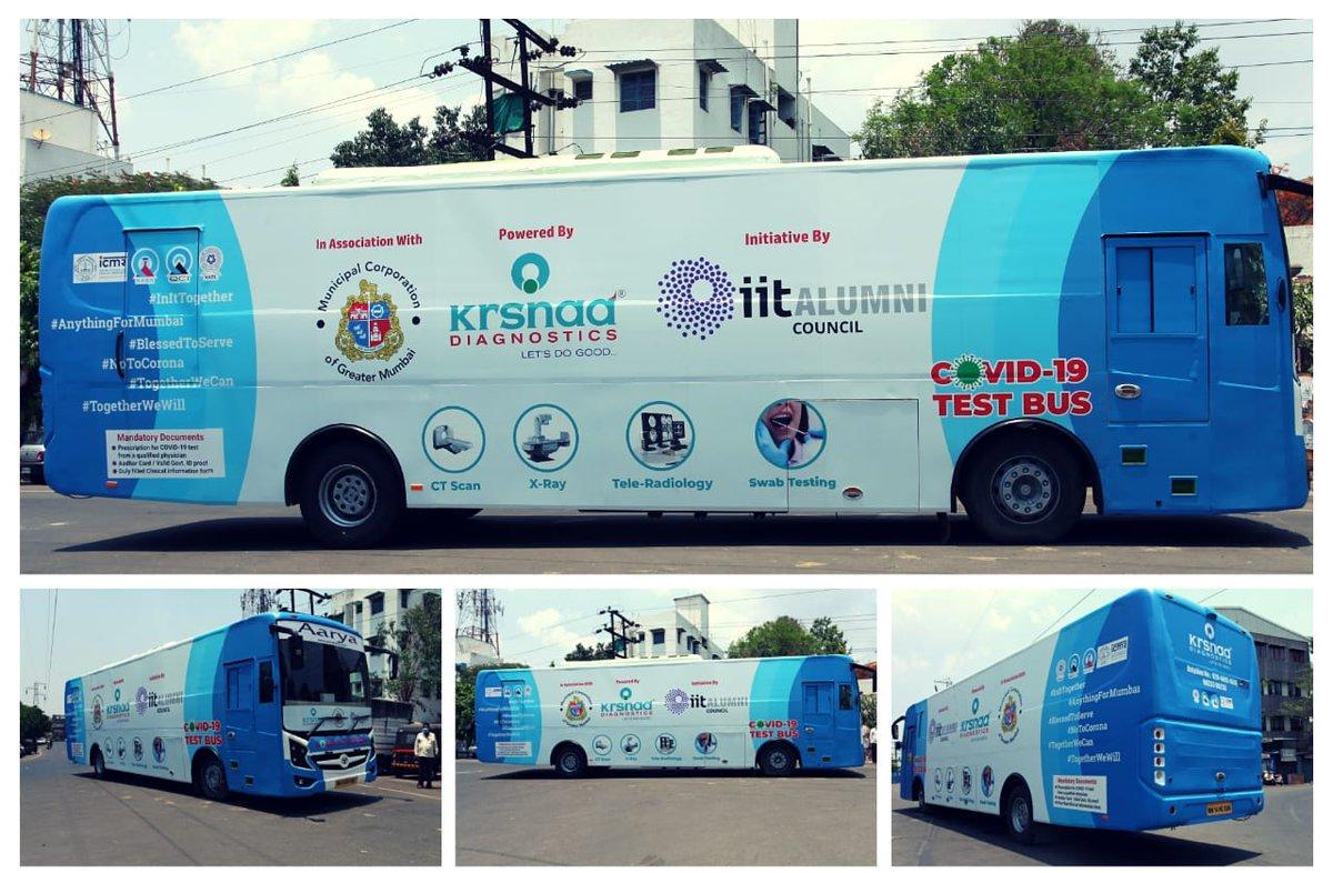 "IIT Alumni council launches ""COVID-19 test bus""_40.1"