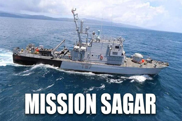 """India starts """"Mission Sagar"""" to assist island nations in EIO_40.1"""