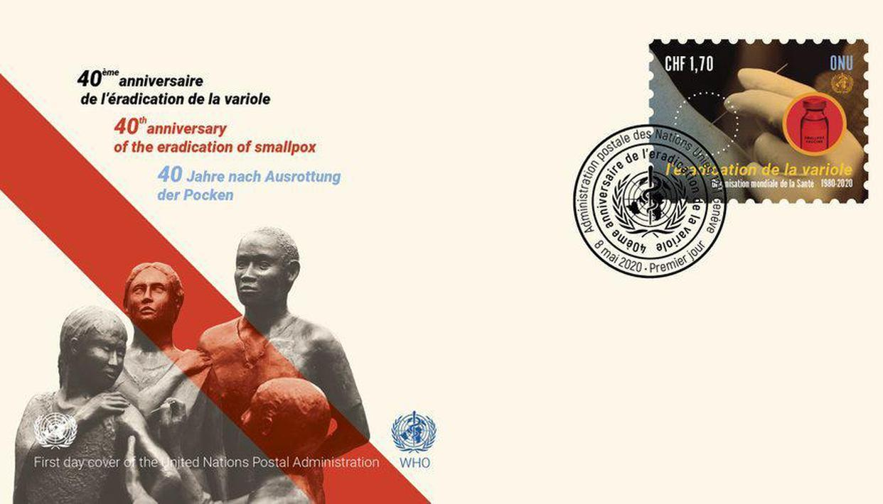WHO, UN's release postage stamp on 40th anniversary of smallpox eradication_40.1