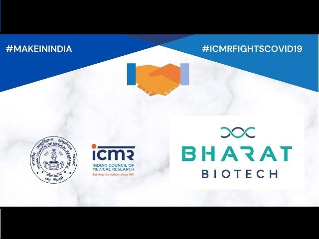 ICMR tie up with Bharat Biotech for Indian COVID-19 vaccine_40.1