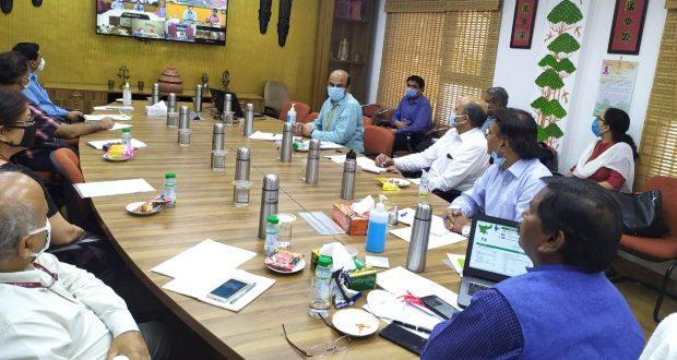 """Video conference held on """"Tribal livelihoods and safety""""_40.1"""