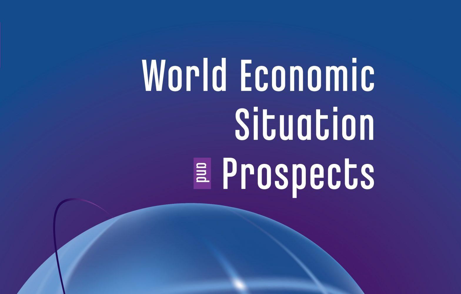 """UN releases report """"World Economic Situation and Prospects""""_40.1"""
