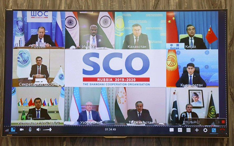 Shanghai Cooperation Organisation Foreign Ministers meet on COVID-19_40.1