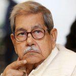 Bangladesh's National Professor Anisuzzaman passes away