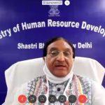 Union HRD Minister e-launches 7 titles under NBT's Corona Studies series