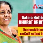 "FM announces 5th tranche of measures for ""Aatmanirbhar Bharat Abhiyan"""